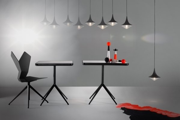 Tom Dixon's Club Collection of furniture, lighting and accessories marks the company's debut at iSaloni. See it at Salone in Hall 20, Stand B06.