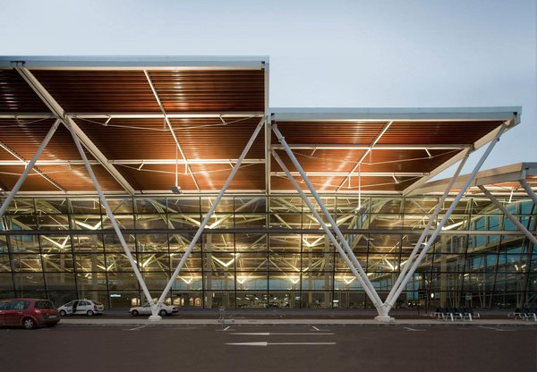 Zaragoza Airport, in northern Spain. Photo courtesy of Luis Vidal + Architects.
