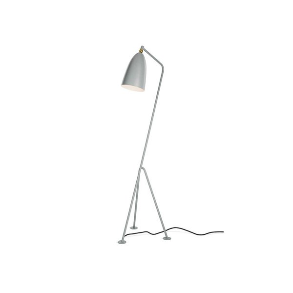 Today, the Grasshopper lamp is undoubtedly Grossman's most famous design. Introduced in 1947, the Grasshopper is both sophisticated and unobtrusive, which allows it to work well on its own and when paired with other designs.
