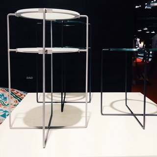 Milan Design Week: Day Three - Photo 4 of 8 - Jasper Morrison's first pieces for SCP from 1986, reissued for 2014.