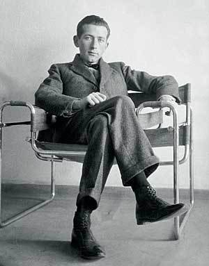 "Marcel Breuer  A passionate designer and architect, the Bauhaus-trained icon once wrote about about ""The taste of space on your tongue/The fragrance of dimensions/The juice of stone."""