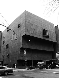 Design Icon: 10 Buildings by Marcel Breuer - Photo 9 of 11 - Whitney Museum of American Art (New York, 1966)<br><br>A muscular concrete stack amidst the stately homes of Manhattan's Upper East Side, the Whitney imposes itself on the neighborhood, an architectural statement as challenging as the work housed inside. The granite exterior, ascending edges and upside-down windows, initially seen as pushy and gauche, are now recognized as inspired and grandiose. <br><br>Photo Credit: Jules Antonio, Creative Commons