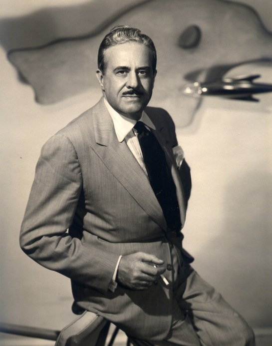 "Raymond Loewy   According to daughter Laurence Loewy, the stylish and talented designer liked ""a stiff drink, a good smoke and a hearty laugh.""  Photo 1 of 9 in Design Icon: 8 Works by Raymond Loewy"