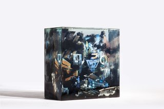 Glass Sculptures Use Magazines as Art - Photo 5 of 6 -