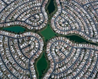 Suburban Sprawl Photographed from Above - Photo 3 of 5 -