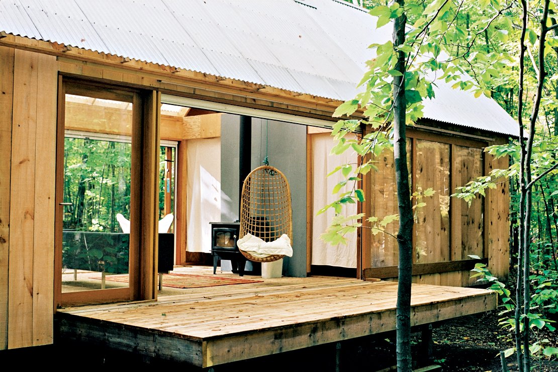 Photo by Leo Mieles Tagged: Exterior, Cabin Building Type, and Wood Siding Material.  Photo 6 of 9 in First-Class Cabins