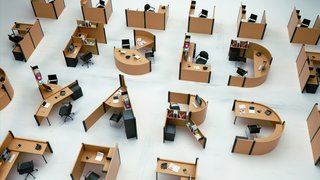 Desk Typography: A Font Based on the Open Office Plan - Photo 1 of 3 -