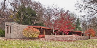 Accessible Frank Lloyd Wright House in Illinois Is Reborn as a Museum - Photo 8 of 8 -