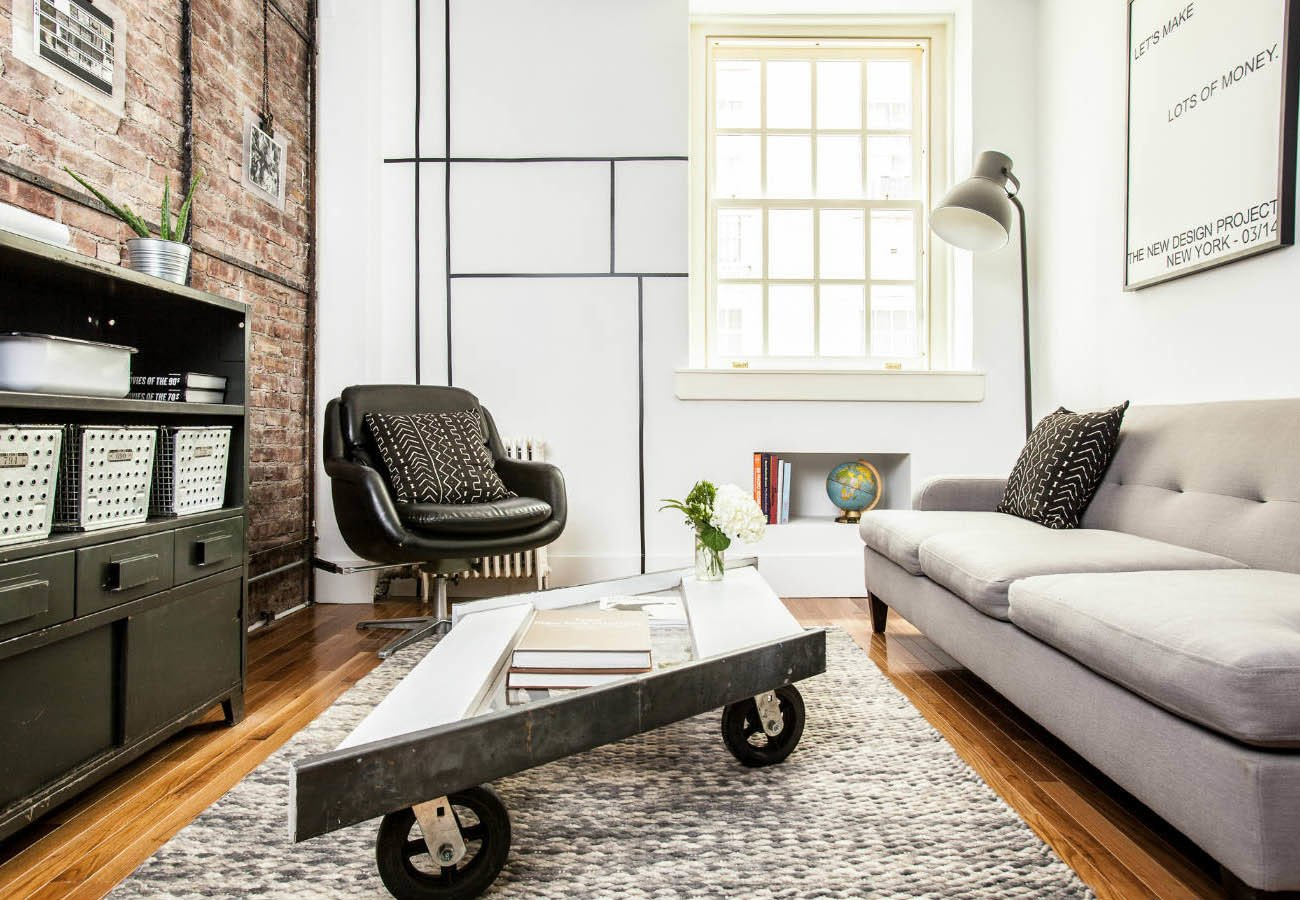 A gut renovation transforms a tiny manhattan apartment dwell for Manhattan ny interior designer