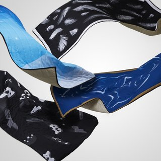 Slick Blankets From a Team of Icelandic Designers - Photo 1 of 5 - Blankets by Børk <br><br>The Reykjavik collective of graphic designers wanted to create objects, and bring something more physical and tangible into the world.<br><br>Photos courtesy of Børk