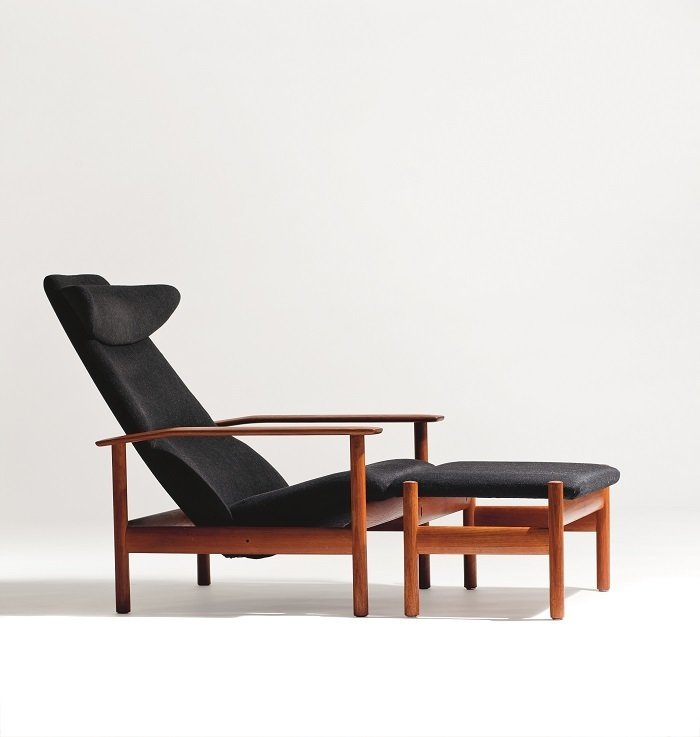 1001 Reclining Chair by Sven Ivar Dysthe  Photo by Blomqvist for Norwegian Icons  100+ Best Modern Seating Designs by Dwell from Rediscovering Icons of Norwegian Design