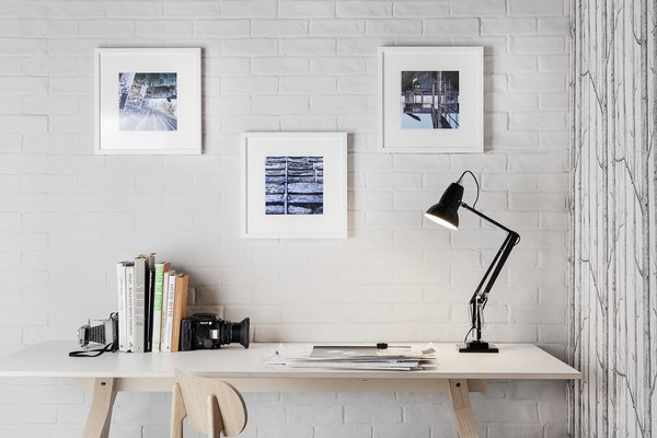 """In 1933, George Carwadine launched the first Anglepoise four-spring task lamp. In 1935, he developed a more accessible version for domestic use, and named it the """"Original 1227."""" This lamp features a three-spring system and has become one of the most recognizable designs in modern lighting."""