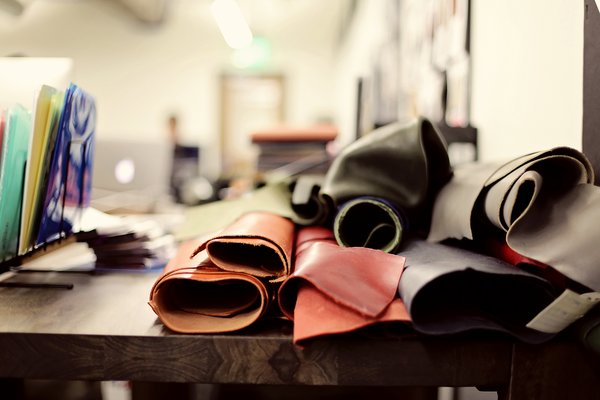 Shinola has expanded its space in Detroit's Argonaut Building to include leather manufactuirng. The company sources most of its raw materials from tanneries in Chicago, Maine, and Pennsylvania. Photo courtesy of Shinola.