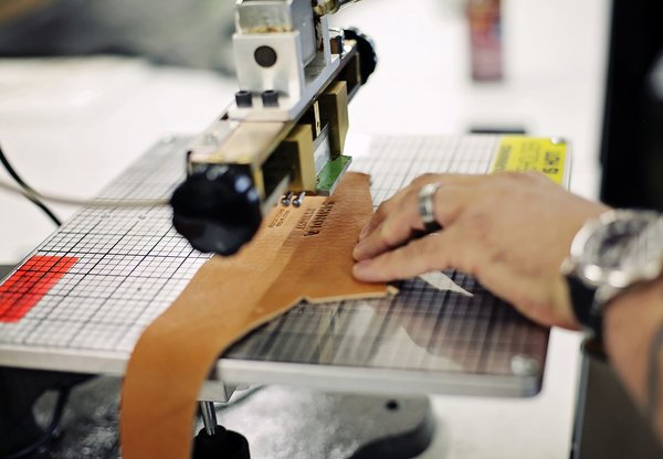 Italian company Galli S.P.A. custom made the machinery in the 12,000-square-foot workshop based on specifications needed to produce Shinola's designs. Photo courtesy of Shinola.