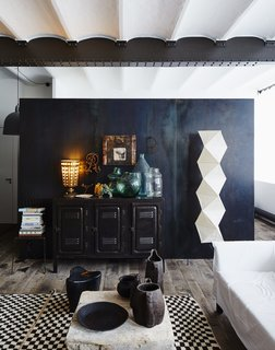 Editor's Letter: 5 Extraordinary Interiors We Love - Photo 3 of 5 - A tastemaker brings his distinct vision and vintage items to this industrial loft with a centuries-old pedigree.