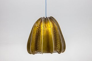 Laser-Cut Lampshade Made from Seaweed - Photo 1 of 2 -