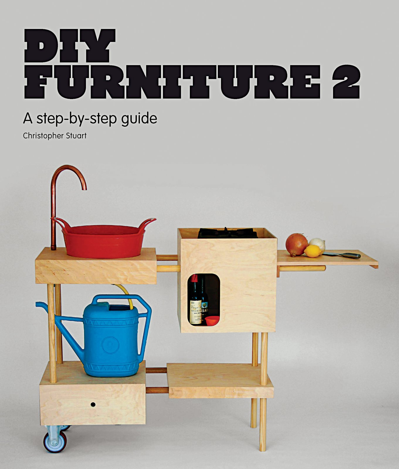 DIY Furniture 2, a follow-up to DIY Furniture, showcases how to make unique designer furniture using readily available materials commonly found at the local hardware store. Picture courtesy of Laurence King Publishing.  Photo 2 of 2 in DIY Furniture Ideas for Modern Makers