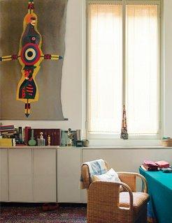 Elegant Milan Home of Designer Gae Aulenti - Photo 5 of 6 -