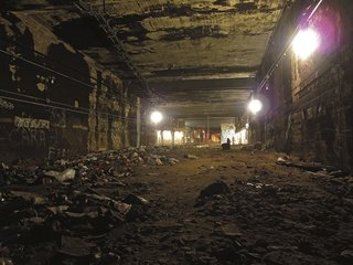 Beneath the Streets: Photos of New York's Secret Underground - Photo 7 of 10 - A section of tunnel in the NYC subway. Photo courtesy Jurne.
