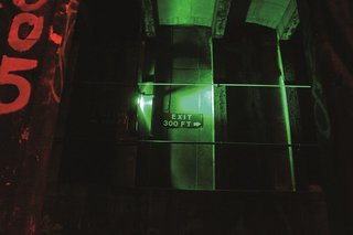 Beneath the Streets: Photos of New York's Secret Underground - Photo 9 of 10 - ignage on walls let workers know how far they are from the platform. Photo courtesy Jurne.