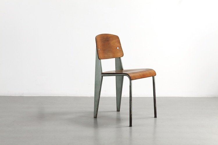 Standard Chair (1934) The French Metalworker, Furniture Designer, And  Architect Helped Revolutionize