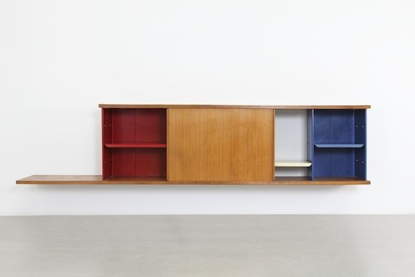 Bookcase Antony (1955)   Inspired by the chair of the same name, this bookshelf was one of many pieces that found a home in Cite University. It was one of many fruitful collaborations between Prouvé and Perriand from that period.   Image courtesy Galerie Patrick Seguin