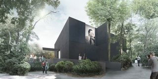 Australia's Black Granite Box at Venice Architecture Biennale - Photo 1 of 3 -