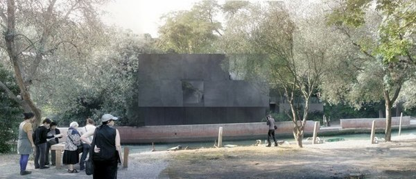 Australia's Black Granite Box at Venice Architecture Biennale - Photo 3 of 3 -