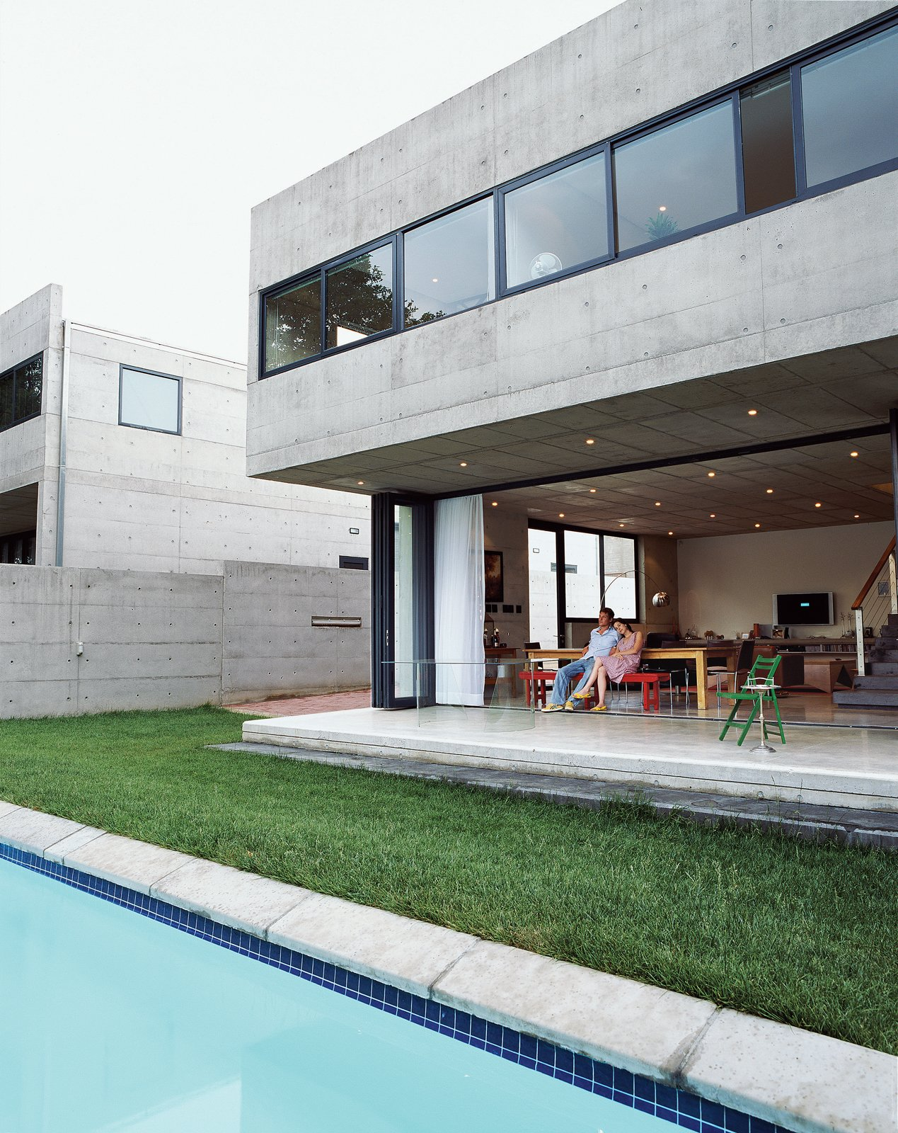 10 Outstanding Modern Concrete Homes   Photo 8 Of 10   Gregory And Caryn  Katz Are