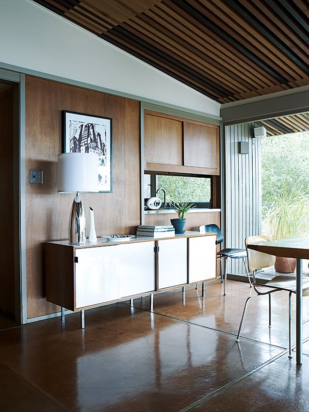 The sideboard in the dining room is by Florence Knoll. Tagged: Living Room and Chair.  Photo 4 of 9 in Oakland Aesthetics