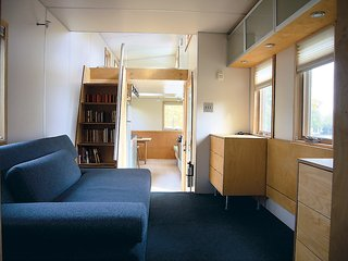 Upwardly Mobile Homes - Photo 6 of 6 - An interior shot of the miniHome, conceived by Andy Thomson.
