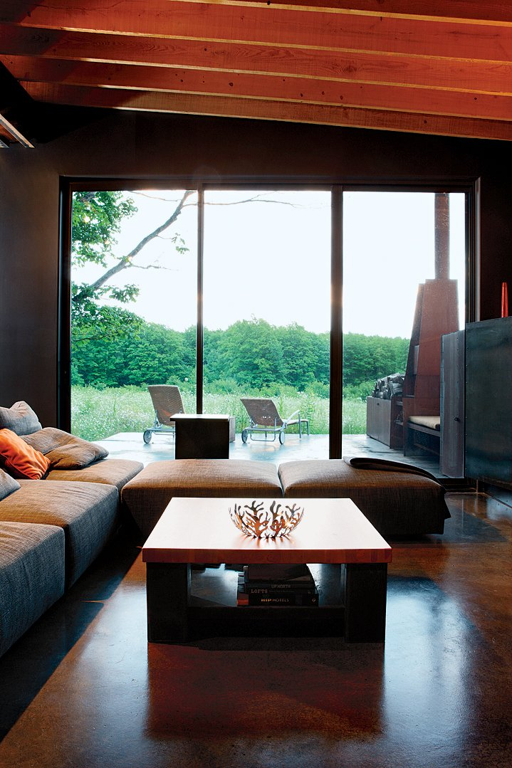 The main living area.