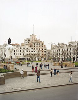 Heading to Lima, Peru - Photo 1 of 4 - The Plaza San Martin.
