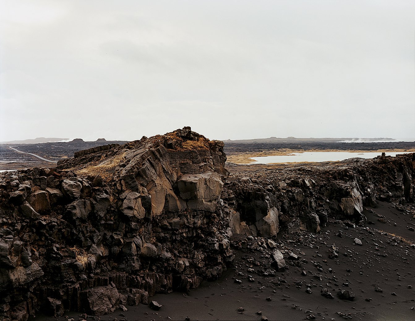 The dramatic Icelandic landscape is on stark display just outside the capital. The North American and Eurasian tectonic plates meet near Keflavic.  Photo 5 of 13 in Reykjavík, Iceland