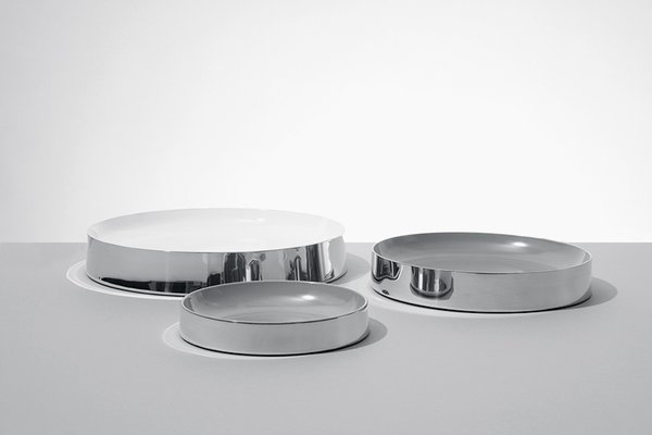Fruity bowls (2007), manufactured by Wentworth Pewter.