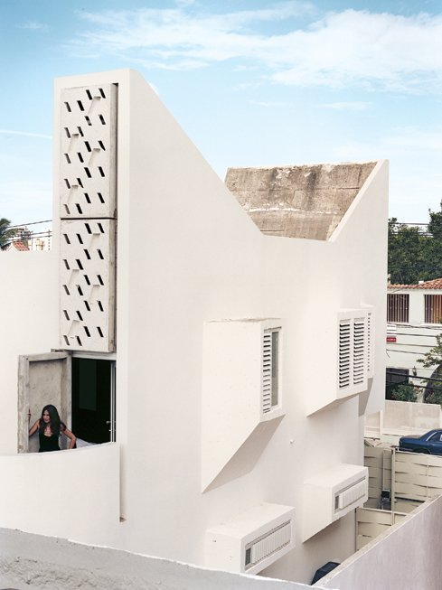 Eneida Nuñez stands on the terrace of the master bedroom.  Photo 4 of 8 in San Juan, PR