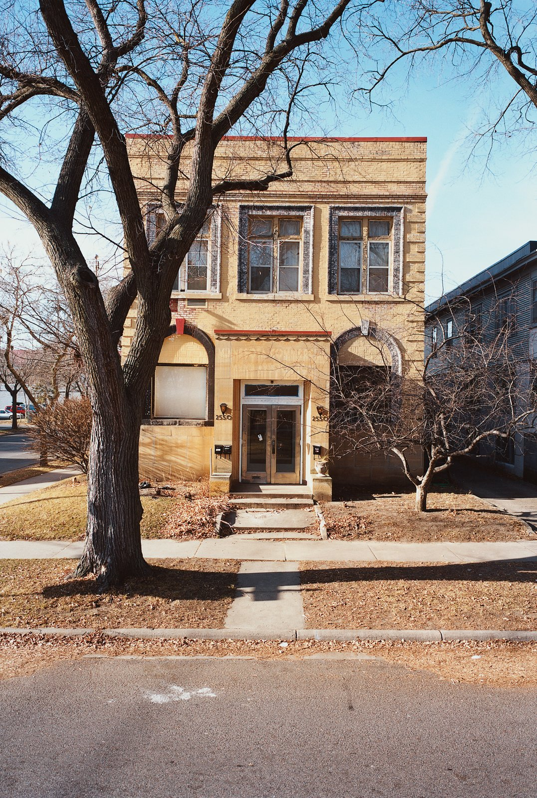 Despite the drastic changes within, the exterior of Martin's home has remained intact throughout the years.  Photo 5 of 10 in A Minneapolis Building That Has Lived Multiple Lives Is Revitalized by a Coffeehouse Owner