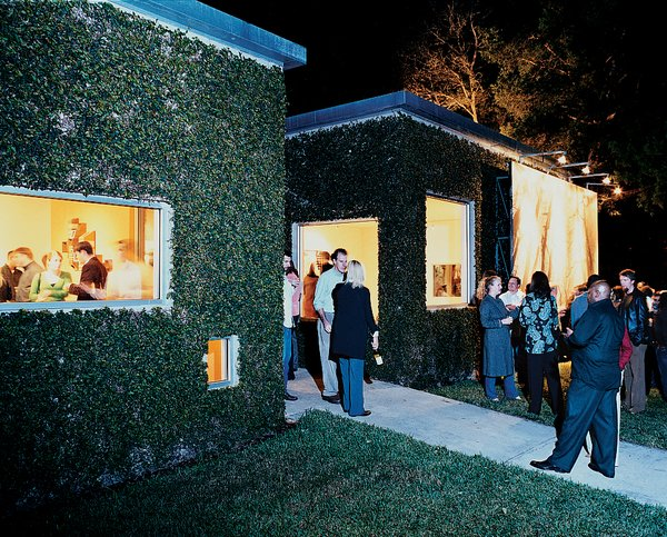 The home also acts as an occasional art gallery, comfortably accommodating Baton Rouge's art scene at one of the Bairds' many parties.