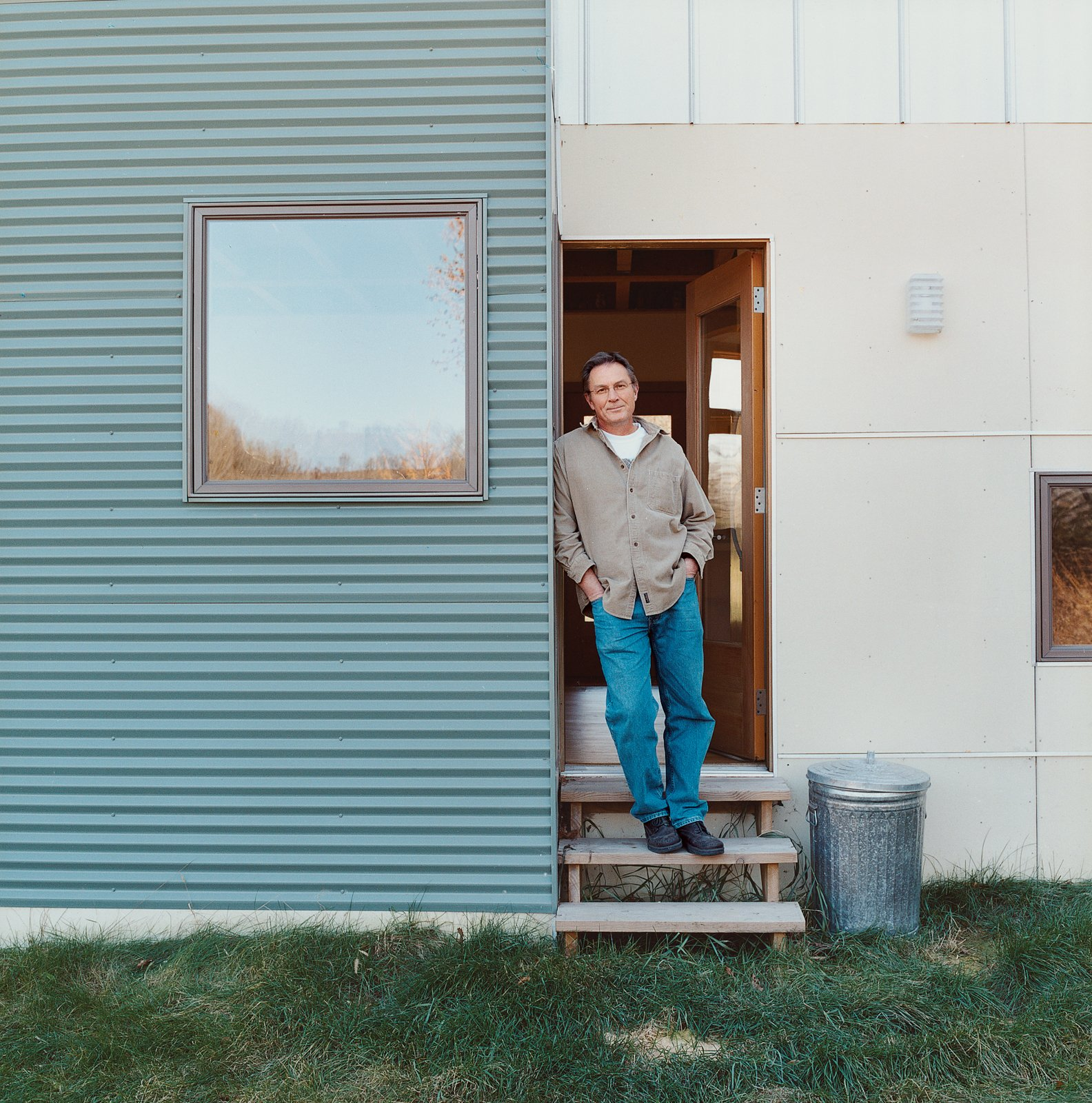 Bill Weber built his home while serving as his own general contractor.  Photo 3 of 12 in Labor of Loved Ones