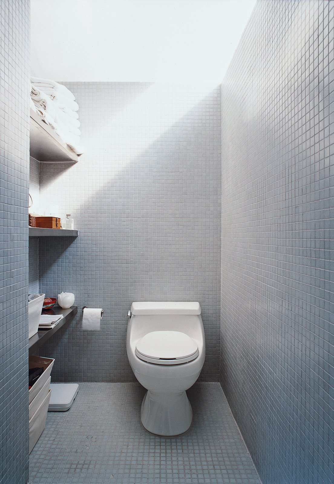 The LV prototype's bathroom shows how buyers can vary finish levels according to budget.  Photo 8 of 10 in All You Need Is LV