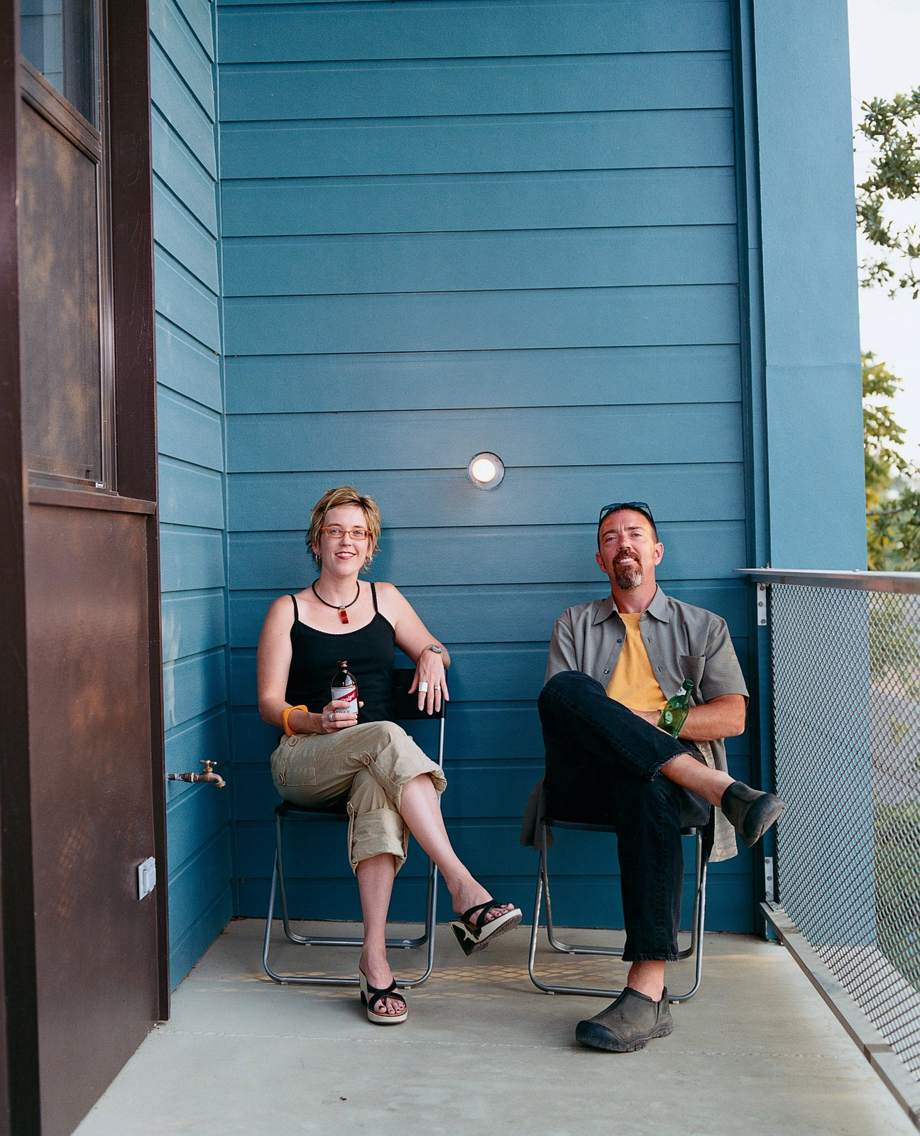 """Julie Charvat (with Byron Mouton) says, """"Byron wanted us to move here ourselves for the views, but I said, 'We just moved a few years ago so forget it.'""""  Photo 7 of 11 in New Orleans, LA"""