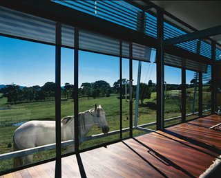 Green Acres - Photo 1 of 4 - This low-maintenance home near Brisbane, Australia, exemplifies architect James Grose's design philosophy based around simple, lightweight construction techniques well suited to the region's subtropical climate.