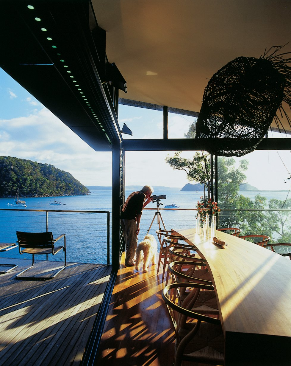 �u  Photo 7 of 11 in Three Glass-and-Copper Pavilions Conquer the Cliffs