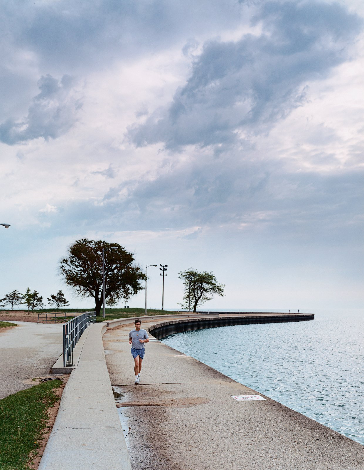 The Lake Shore Drive bike path provides ample opportunity for outdoor recreation.  Photo 2 of 8 in The Real Chicago