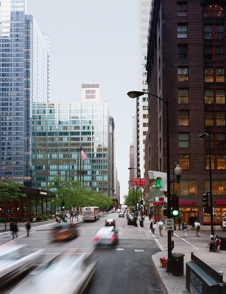 """The Inland Steel building, by Skidmore, Owings & Merrill, is one of Lynch's favorites in a city that has plenty of architectural masterworks to choose from. """"It's so thin and so pure,"""" Lynch says.  Photo 5 of 8 in The Real Chicago"""