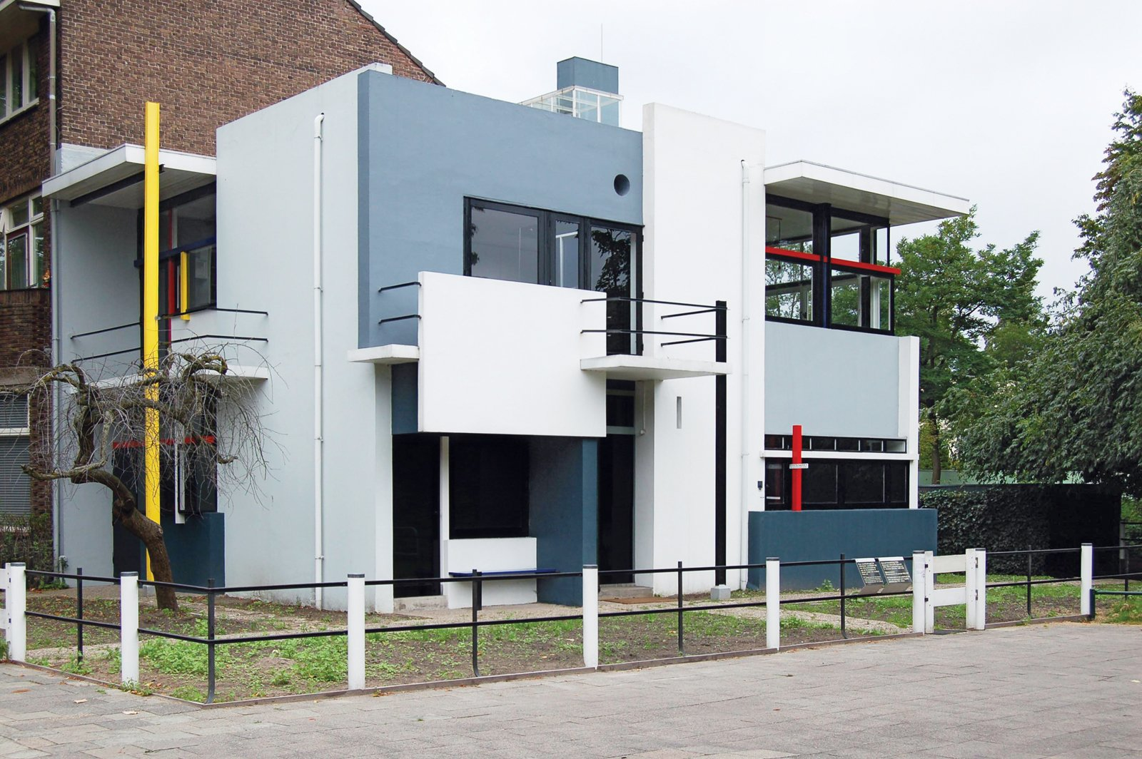 The Rietveld Schröder house, built in 1926, is often described as the first truly modern building. Tagged: Exterior and House.  Photo 1 of 8 in Et tu, Bertus?