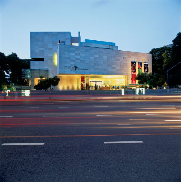 MALBA, designed by Argentine architects Gastón Atelman, Martín Fourcade, <br><br>and Alfredo Tapia houses Eduardo Costantini's significant collection of art works from Argentina, Brazil, Cuba, Chile, Mexico, and Venezuela.
