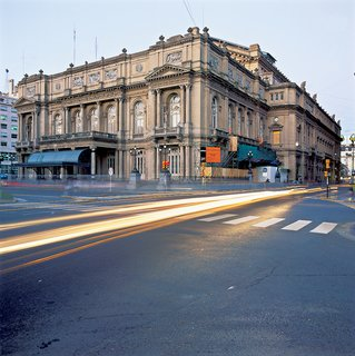 Opera, ballet and symphonies are performed at the historic Teatro Colón, which was designed by architect Victor Meano in in 1892 (but opened in 1908).