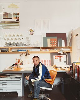 Architect Thom Faulders inside his Berkeley studio.