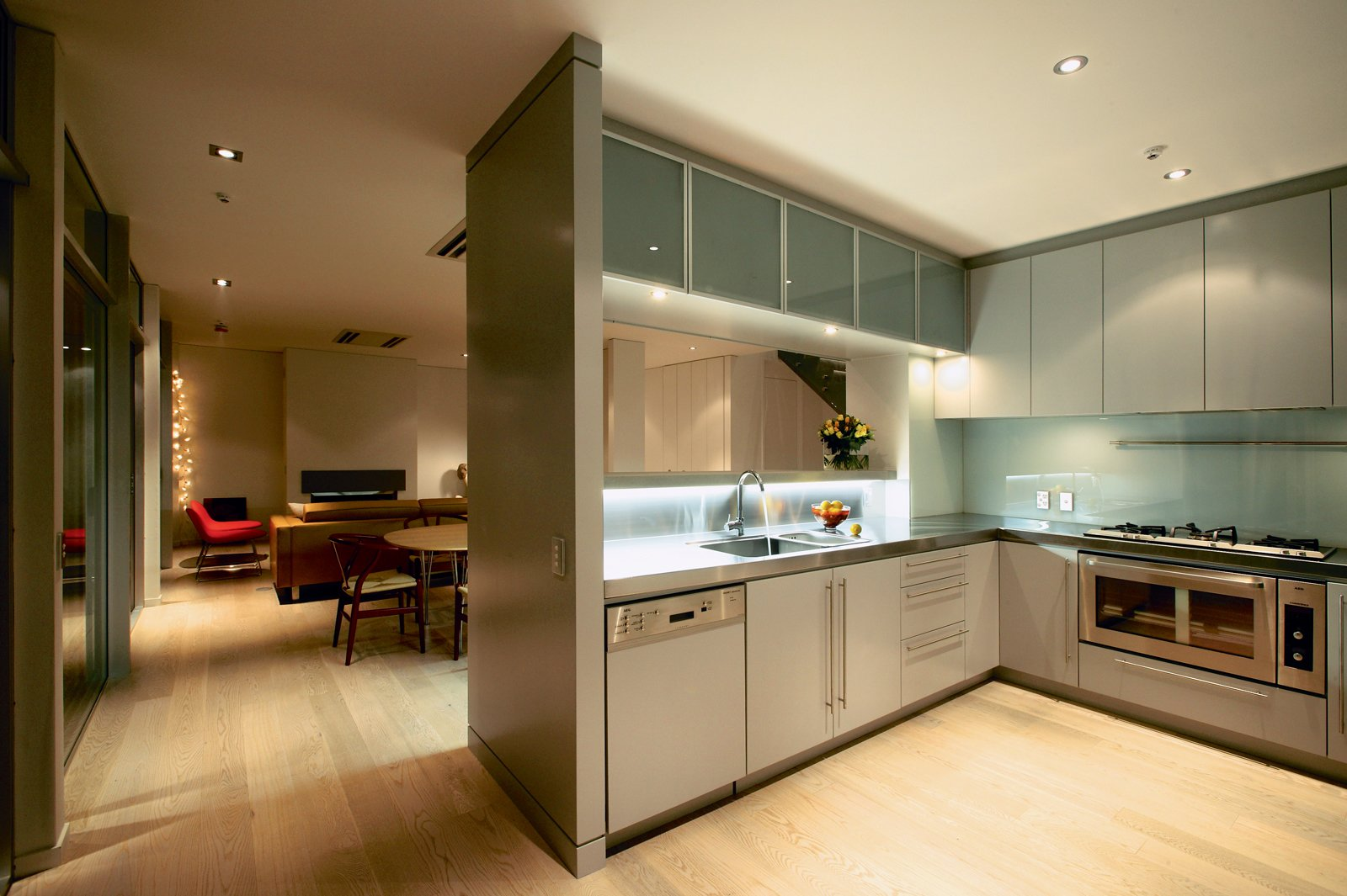 The apartments range from 750 to 2,350 square feet.